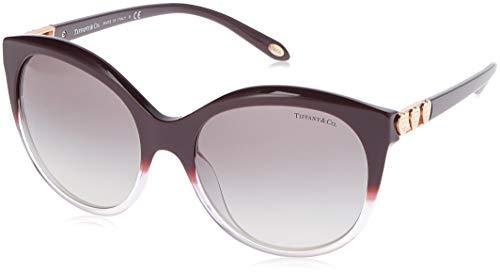 Tiffany 0ty4133 82273c 56, occhiali da sole donna, viola (purple gradient lilac/greygradient)
