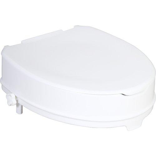 Patron ZRERHI01230200 WC-Sitzerhöhung mit Deckel, Apollo-V / Ares, 10 cm