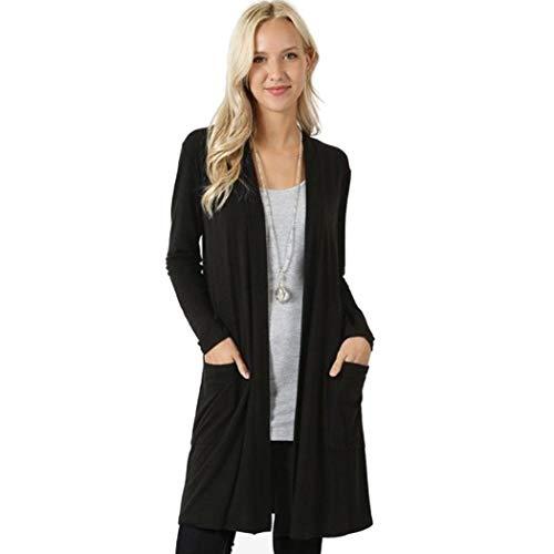 Cappotto in  Cotone Cardigan Aperto da Donna