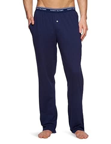 Tommy Hilfiger Classic Jersey Pants Men's Loungewear Peacoat