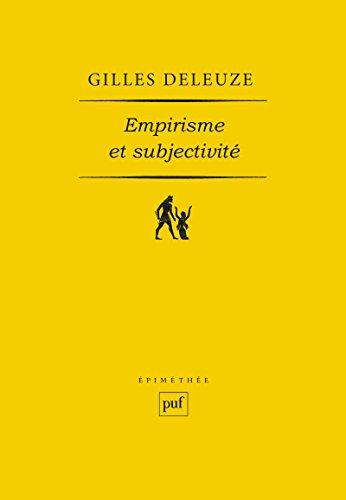 Empirisme et subjectivité: Essai sur la nature humaine selon Hume
