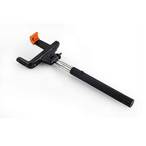 High Quality Original Design Bluetooth Mobile Monopod Selfie Stick Selfie Monopod for great Selfies - Extendable Selfie rod with Universal Mobile Attachment for Mobile Phones (Android and iphone)