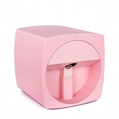 Impresoras de uñas en 3D Máquina de pintura portátil Transferencia inalámbrica móvil automática Impresoras digitales de uñas totalmente inteligentes,Pink