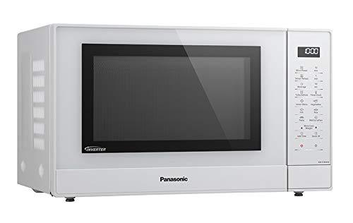 Panasonic NN-ST45 Solo Mikrowelle (1000 Watt, 32 Liter, rostfreier Stahl) weiß