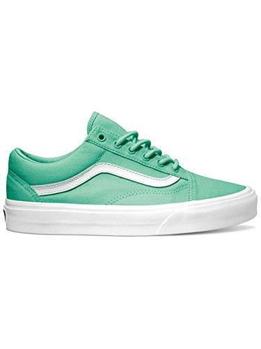 Vans U Old Skool Dress Blues/Neo, Sneaker Unisex-Adulto Verde (biscay green/true white)