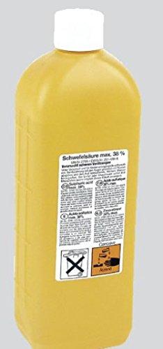 Batteriesäure Akkumulatorensäure 1.28 Schwefelsäure 37,5% 1 Ltr.