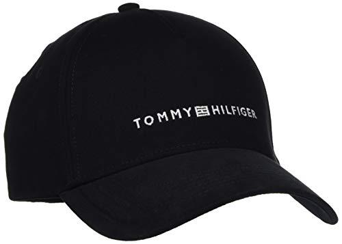Tommy Hilfiger Herren Uptown Baseball Cap, Schwarz (Black 002), One Size (Herstellergröße:OS)