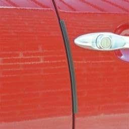 Gift Idea Front Or Rear Door Guard Clip Push On Protectors Edge Strip Black Amazon.co.uk Car u0026 Motorbike & Gift Idea Front Or Rear Door Guard Clip Push On Protectors Edge ...