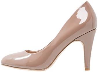 Anna Field barniz de Pumps Negro, Nude, crema de color blanco O. gris–Mujer Zapatos de tacón elegante–HIGH HEELS redondo