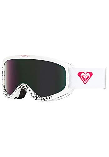 Roxy Damen Day Dream Snowboard Goggles, Bright White, One Size