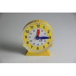 Lernuhr für Schüler Uhrzeit lernen Wie spät ist es? Übungsuhr für Kinder in Vorschule und Grundschule synchrone Uhr