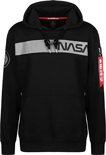 Alpha Industries NASA RS Felpa Black