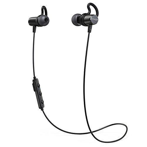 Anker SoundBuds Surge Bluetooth Kopfhörer, in Ear magnetischer Kopfhörer mit 6-Stunden-Spielzeit/Wasserschutzklasse IPX4/Mikrofon für iPhone, iPad, Samsung, Nexus, HTC und mehr