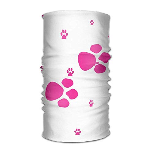 No Soy Como Tu Sturmhauben Red Cat Dog Paws Unisex Variety Scarf Wrap Bandanna Headwear Neck Gaiters Head Scarf Face Masks -