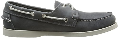 Sebago Docksides, Chaussures Bateau Homme Gris (Smoke/Waxy)
