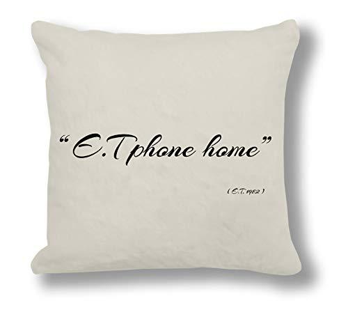 412b9899ed Ariella Kingh - E.T 1982  E.T Phone home  Cushion Cover Unique Gift Idea for  Valentines Day Wedding Anniversary Birthday Romantic Presents Gifts Ideas  For ...