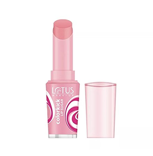 Lotus Herbals Colorkick Lip Sugar CORAL (spf-20) (3g)