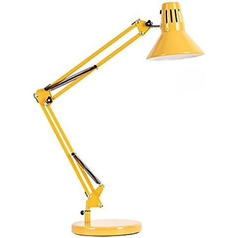 Adelaide - LED Desk Light Eye lettura Retro Lunga braccio pieghevole lampada di lettura Lampada da tavolo Ferro Lampada da tavolo semplice