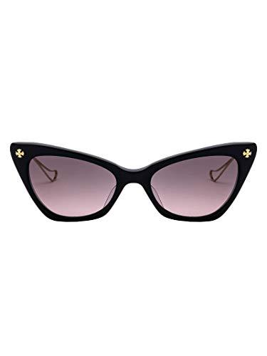 f2dda34cdd01 Chrome Hearts Mujer 324162743793E51923bkgp Negro Acetato Gafas De Sol
