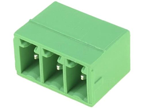 2x MCV1.5/3-G-3.81 Pluggable terminal block socket male straight 3.81mm -