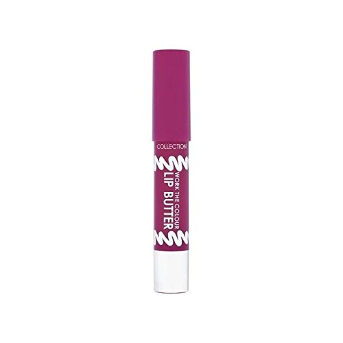 Collection Lavorare Il Colore Delle Labbra Burro Perfetto Prugna (Confezione da 4)
