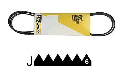 1201 J6 El Ou 1198 J6 Belt Reference: C00119126 for Indesit Washing Machine
