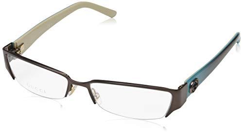 Gucci Damen GG-4229 Brillengestelle, Braun, 53