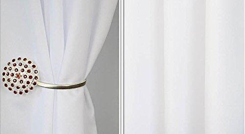Rideau occultant à œillets prêts-à-poser 150 x 160 cm