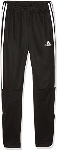 adidas Jungen Tiro 3-Stripes Hose, Black/White, 152
