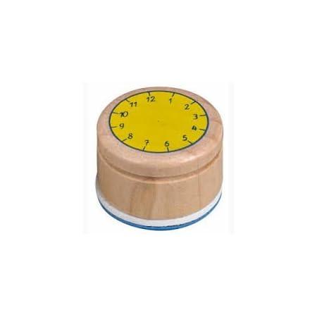 Coppenrath 11554 – Stempel Lern die Uhr Bunte Geschenke