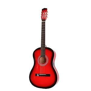 Chitarra Classica 3/4 colore Rosso
