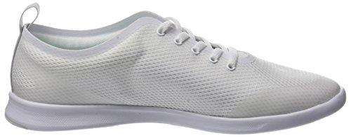 Lacoste Damen Avenir 118 1 SPW Sneaker Weiß (Wht/lt Blu)