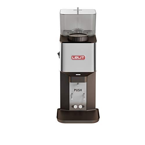 Lelit William PL71 Semi-professionelle Kaffeemühle-Edelstahl-Gehäuse-Mikro-regulierung des Mahlens