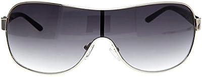 GUESS Gafas de Sol 0112F 00Q87 (75 mm) Plateado
