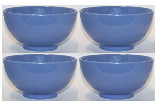 Waechtersbach Keramik 4er Set Fun Factory Cerealienschale Müslischale Müslischüssel Schale Schüssel Ø 15cm Bluebell (Fun Müsli Schalen)