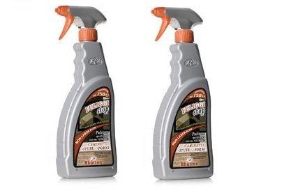 RHUTTEN- n. 2 confezioni Fuliggi Stop detergente camini forni stufe via cenere