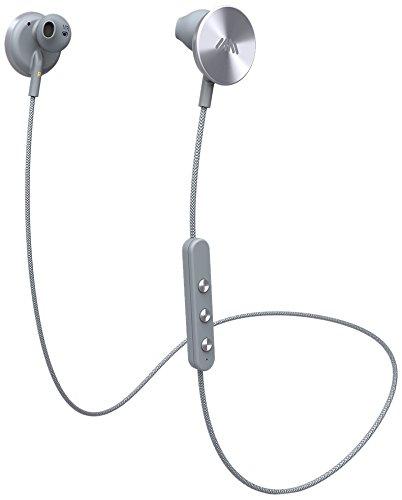 i.am+ BUTTONS Bluetooth Kopfhörer (Bluetooth 4.0, 6 h Akku, magnetische Disks) Grau
