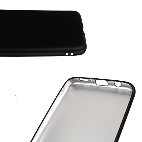 "Lankashi TPU Silicone Etui Housse Coque Cover Case Skin Lanyard Pour Apple Iphone 7 Plus 5.5"" (Noir) Noir"