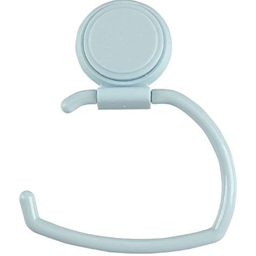 ODJOY-FAN Kunststoff Küche Lager Gestell HakenPapier Handtuch Halter Küche Bad Rollen Gestell Unter Kabinett Lager Aufhänger Regal 14 x 18 x 6.5 cm (Blau,1 PC) (Papier-handtuch-aufhänger)