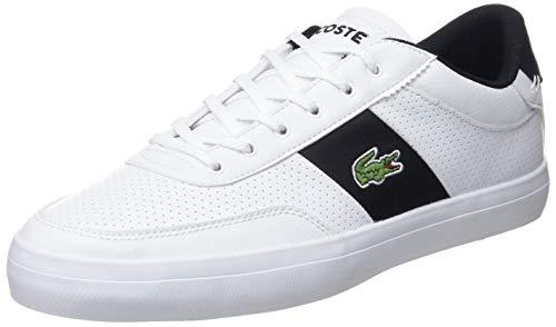 Lacoste Herren Court-Master 119 2 CMA Sneaker, Weiß (Wht/Blk 147), 43 EU