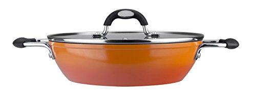 VITREX Gourmet Tartera, Acero, Naranja, 26 cm