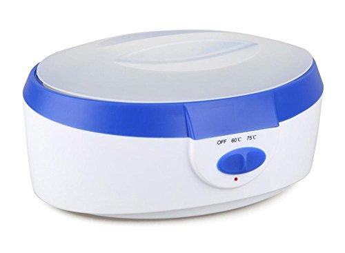 Wachs wärmer 2 Liter Hoch Kapazität Wax Heater SPA Paraffin Bad Hand Füße Wachs Haut Behandlung Maschine Set Blau/Pink , blue -