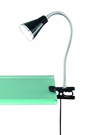 Reality R22711102 Lampe à fixer Plastique 3,8 W Integrated Noir