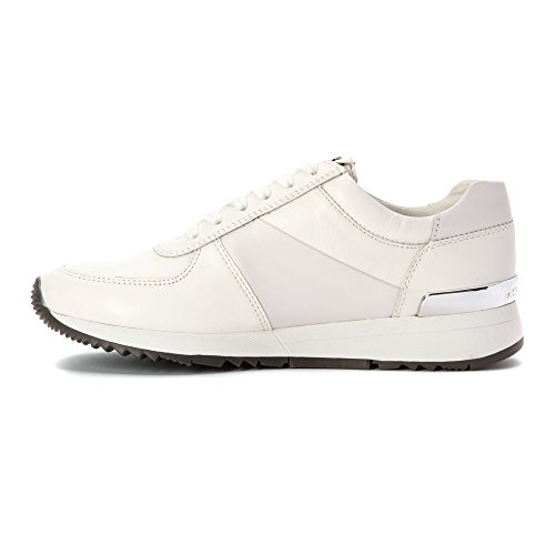 Sneakers Michael Kors allie trainer Donna - Pelle (43R5ALFP3L) EU Bianco