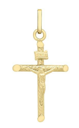 Carissima Gold Kruzifix Anhänger 375 Gelbgold 2.7 cm - 1.64.2269