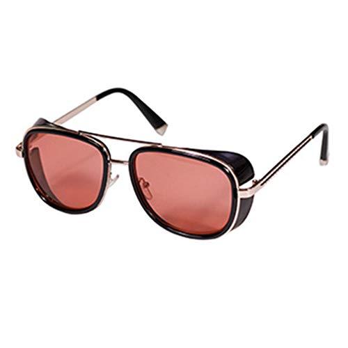 Mxssi aviator Sonnenbrille für Männer Frauen Platz Rahmen Unisex outdoor sports Goggle klassische Sonnenbrille c4
