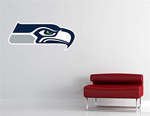 Wandaufkleber Kinderzimmer Seattle Seahawks Sticker Art Decor Fußball Extra großes Spielzimmer Kinderzimmer Jungenzimmer