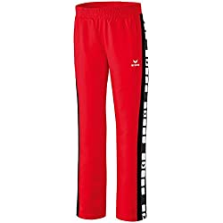 ERIMA Shooter Women's Tracksuit Bottoms Sports 5Cubes Red red / black Size:20 by Erima