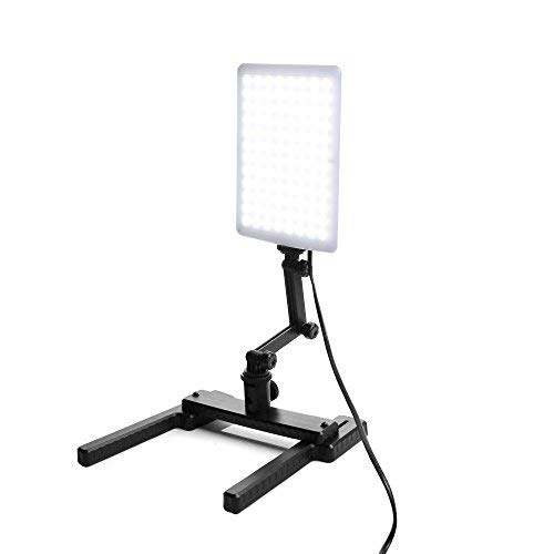uchte Studio-licht Video Lampe Mit Verstellbare Arm & Haltewinkel-Stand Kit für Digitalkameras ()