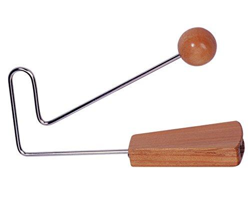 Betzold Musik Vibra-Slap Geräusche Klapperschlange Tier-Geräusche Kinder Theater Schule Musik-Instrument Holz Metall Rassel -